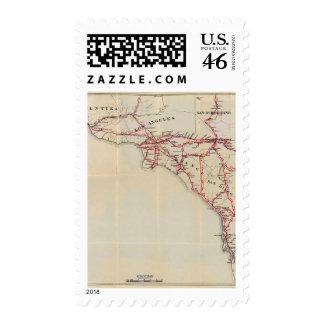 Ventura, Los Angeles, San Bernardino, Orange Stamps