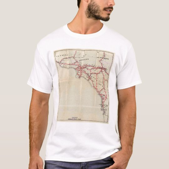 Ventura, Los Angeles, San Bernardino, Orange T-Shirt