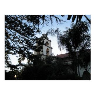 Ventura Mission Bell Tower Postcard
