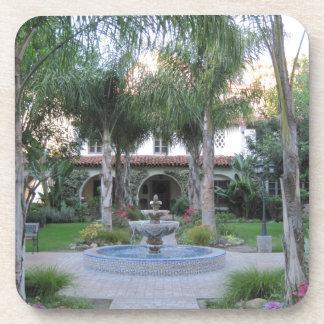 Ventura Mission Garden and Fountain Drink Coaster