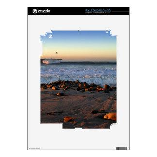 Ventura Ocean Wave Storm Pier Skin For iPad 2