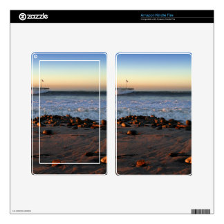 Ventura Ocean Wave Storm Pier Skin For Kindle Fire