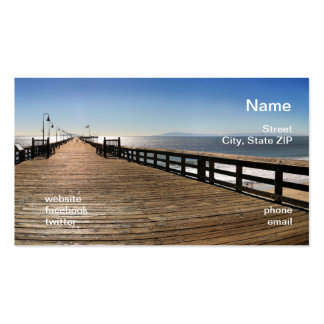 Ventura Pier Double-Sided Standard Business Cards (Pack Of 100)