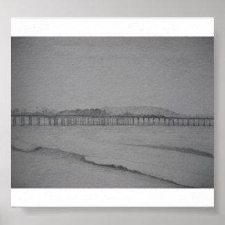 Ventura Pier, Pencil, 2012 Print