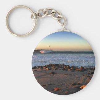 Ventura Pier Sunset Key Chain