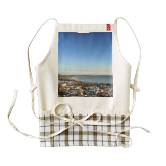 Ventura Skyline Zazzle HEART Apron