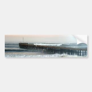 Ventura Storm Pier Bumper Sticker