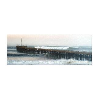 Ventura Storm Pier Canvas Print