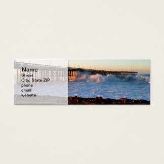 Ventura Storm Pier Mini Business Card