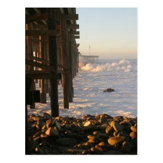 Ventura Storm Pier Postcard