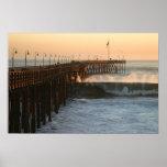 Ventura Storm Pier Posters