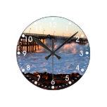Ventura Storm Pier Round Clocks
