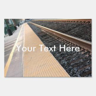 Ventura Train Station Yard Sign