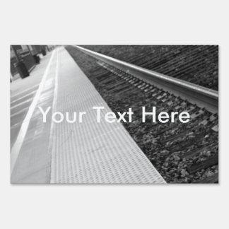 Ventura Train Station Lawn Sign