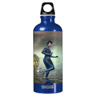 Venture Across the Alien Lake Pods Water Bottle