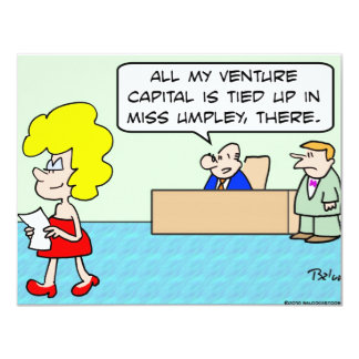 venture capital tied up card