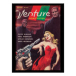 Venture Science Fiction v01 n05 (1957-09.Mercury)_ Poster