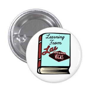 Venturi Learning from Las Vegas Book Pin