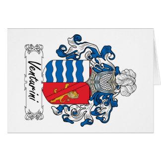 Venturini Family Crest Cards