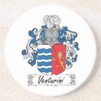 Venturini Family Crest Beverage Coasters