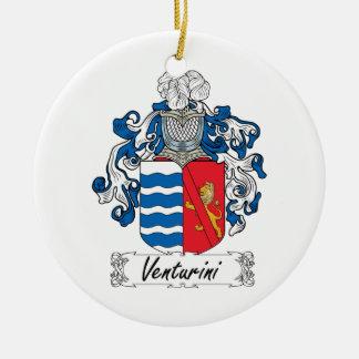 Venturini Family Crest Ornaments