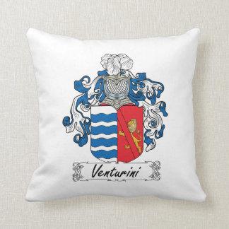 Venturini Family Crest Throw Pillows