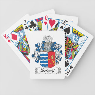 Venturini Family Crest Card Decks