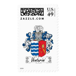 Venturini Family Crest Postage Stamp