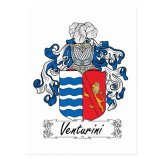 Venturini Family Crest Postcards