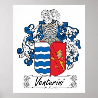 Venturini Family Crest Posters