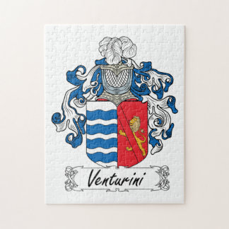 Venturini Family Crest Puzzle