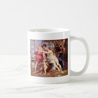 Venus And Adonis By Rubens Peter Paul Coffee Mug