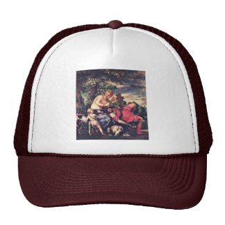 Venus And Adonis By Veronese Paolo (Best Quality) Hat