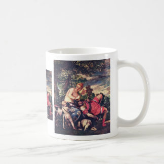 Venus And Adonis By Veronese Paolo (Best Quality) Mug