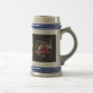 Venus And Adonis By Veronese Paolo (Best Quality) Coffee Mug