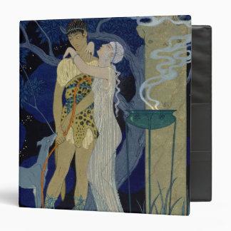 Venus and Adonis (colour litho) 3 Ring Binder