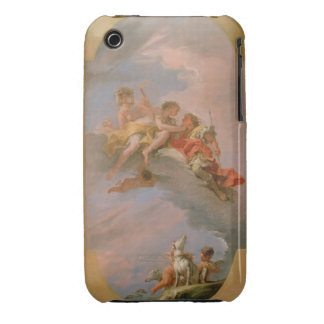 Venus and Adonis (oil on canvas) Case-Mate iPhone 3 Cases
