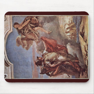Venus And Aeneas Leaves Acatus Back On The Beach Mouse Pad