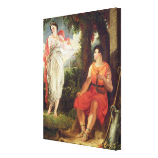 Venus and Anchises, 1826 (oil on canvas) Gallery Wrap Canvas