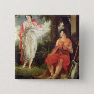 Venus and Anchises, 1826 (oil on canvas) Button