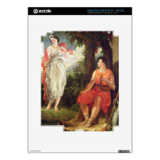 Venus and Anchises, 1826 (oil on canvas) iPad 3 Decals
