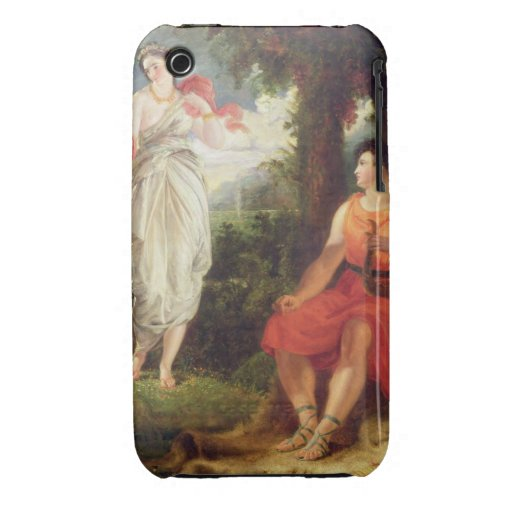 Venus and Anchises, 1826 (oil on canvas) iPhone 3 Cover