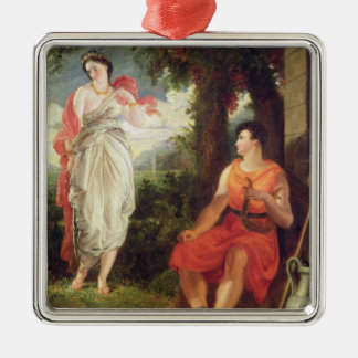 Venus and Anchises, 1826 (oil on canvas) Metal Ornament