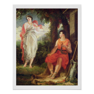 Venus and Anchises, 1826 (oil on canvas) Poster