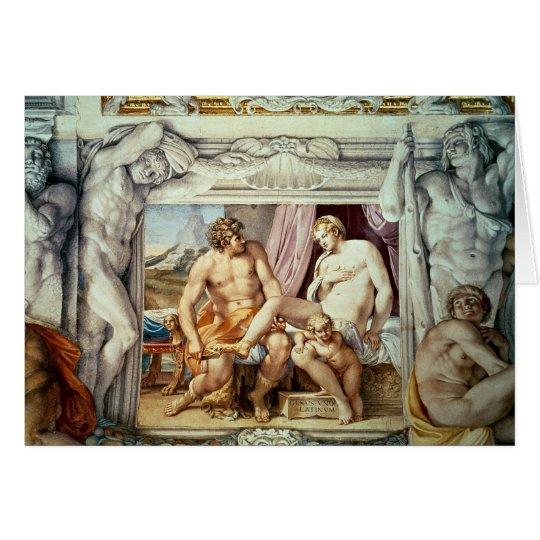 Venus and Anchises Card