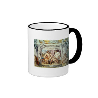 Venus and Anchises Ringer Coffee Mug