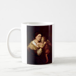 Venus and Cupid by Rembrandt Harmenszoon van Rijn Coffee Mug