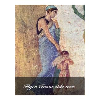 Venus And Cupid Punished Detail By Pompejanischer Full Color Flyer
