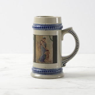 Venus And Cupid Punished Detail By Pompejanischer Coffee Mugs