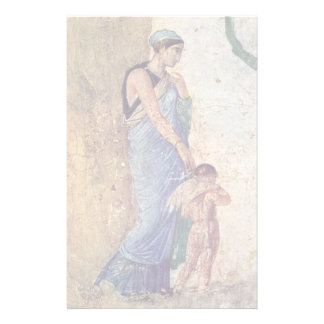 Venus And Cupid Punished Detail By Pompejanischer Stationery